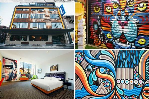 52 street art spots in Brisbane