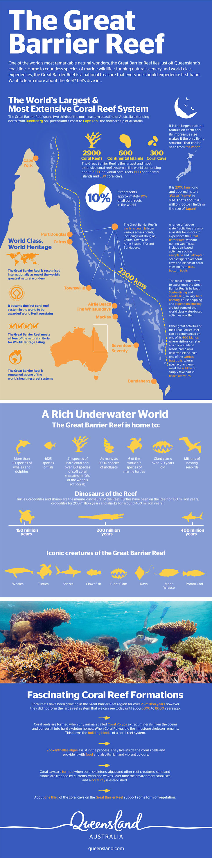 Great Barrier Reef Infographic
