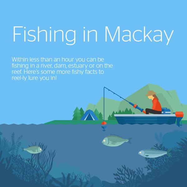Infographic: Fishing in Mackay