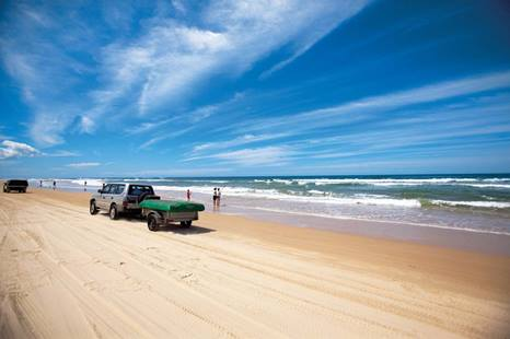 Seventy Five Mile Beach 4WD, Fraser Island