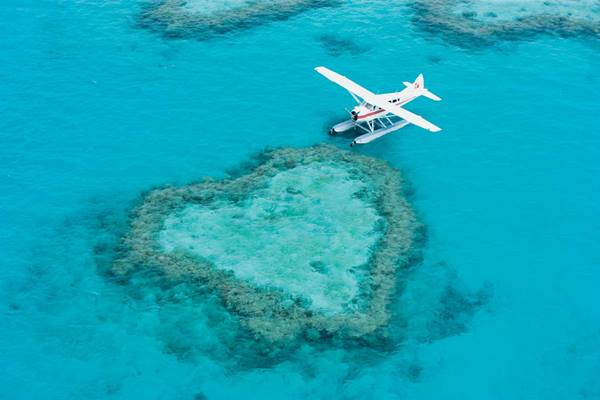 10 stunning aerial photographs of The Whitsundays
